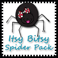 Itsy Bitsy Spider Pack - 71 pages of activities $5 - 3Dinosaurs.com