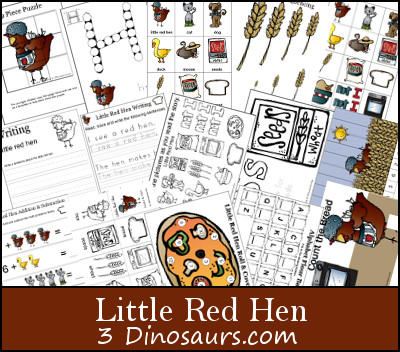 Little Red Hen Printables