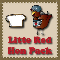 Little Red Hen Pack - 3Dinosaurs.com