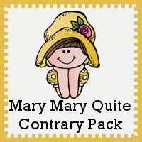 Mary, Mary, Quite Contrary Printables