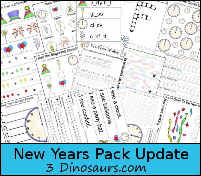 New Years Printables