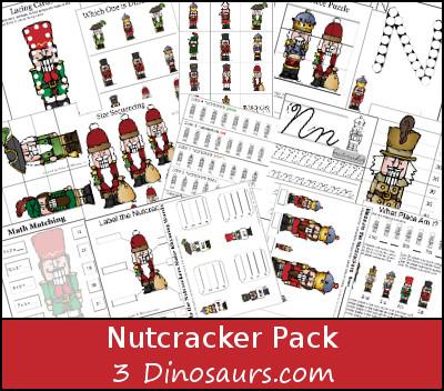 Free Nutcracker Pack - 3Dinosaurs.com