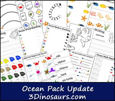 Ocean Pack Update