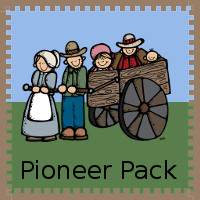 Free Pioneer Pack - over 90 pages of activities plus a Tot Pack - 3Dinosaurs.com