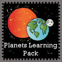 Free Planet Learning Pack - over 90 pages of learning about the planets - 3Dinosaurs.com