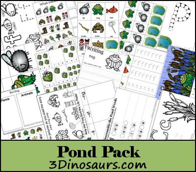Pond Printables
