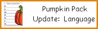 Pumpkin Pack: Language Activities