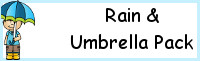 Rain & Umbrella Pack