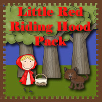 3 Dinosaurs Little Red Riding Hood Pack