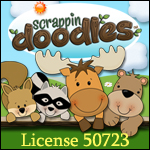Scrappin Doodles License.