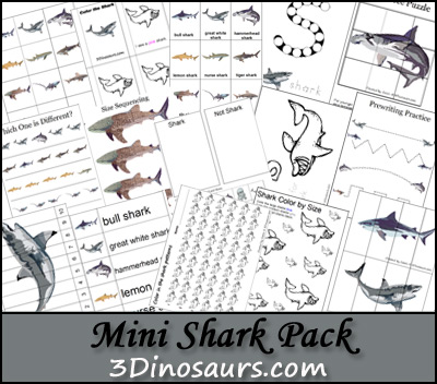 Mini  Shark Pack