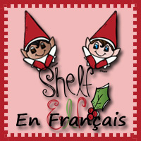 Shelf Elf in French Printables