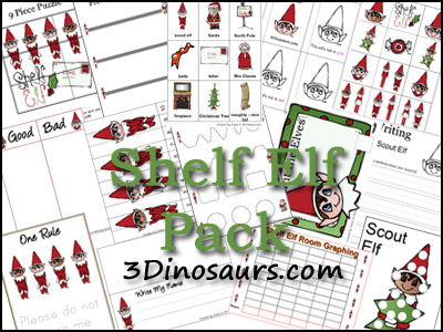 Shelf Elf Printables