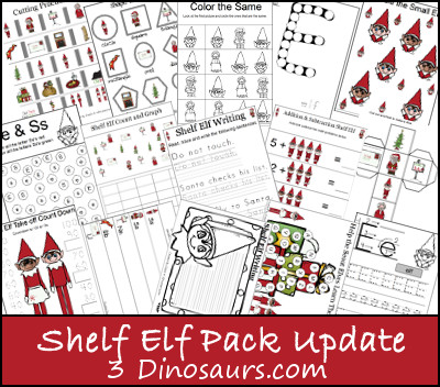 Shelf Elf Printables Update