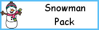 Snowman Themed Pack for PreK & Kindergaten