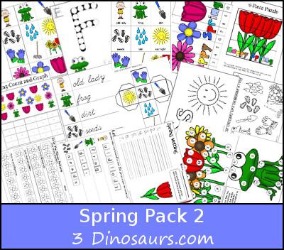 Free Spring 2 Pack - 3Dinosaurs.com