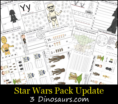 Free Star Wars Pack Update - 3Dinosaurs.com