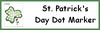 St. Patrick's Day Dot Marker