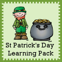 Free St. Patrick's Day Learning Pack!