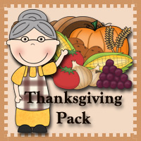 Thanksgiving Pack Update- 3Dinosaurs.com