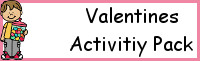 Valentines Activities Pack