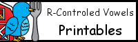 R-Controlled Vowel Printables