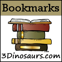 Bookmarks - 3Dinosaurs.com