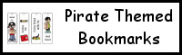 Pirate Themed Bookmarks