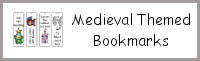 Medieval Themed Bookmarks