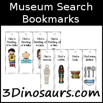 Museum Search Bookmarks - 3Dinosaurs.com