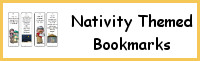 Nativity Themed Bookmarks