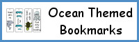 Ocean Themed Bookmarks