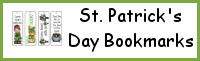 St. Patrick's Day Themed Bookmarks