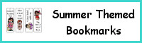 Summer Themed Bookmarks