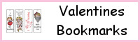Valentine's Themed Bookmarks