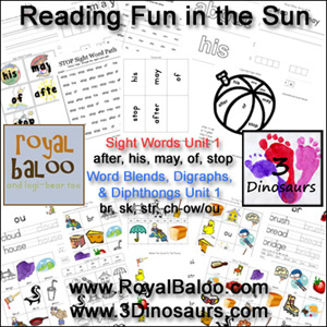 Reading Fun in the Sun Unit 1