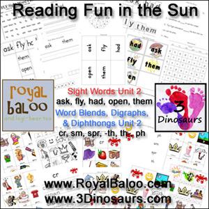 Reading Fun in the Sun Unit 2