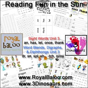 Reading Fun in the Sun Unit 3