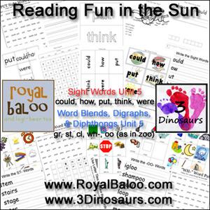 Reading Fun in the Sun Unit 4