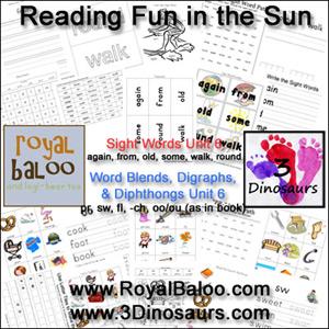 Reading Fun in the Sun Unit 6