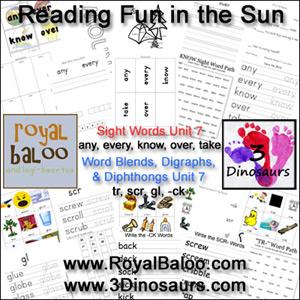 Reading Fun in the Sun Unit 7