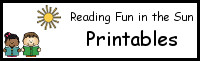 Reading Fun in the Sun Printables