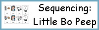 Sequencing: Little Bo Peep