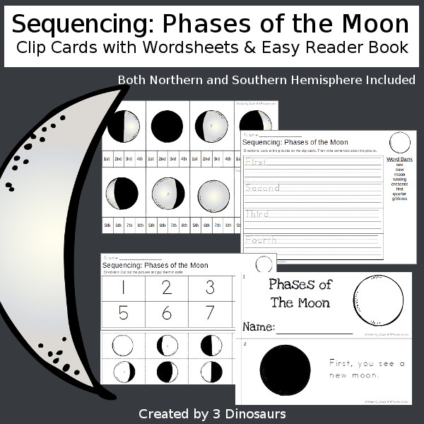 Sequencing Sets for Space Themes: The Planets & The Moon | 3