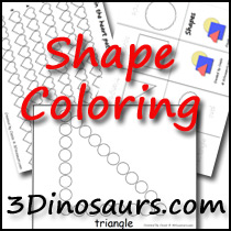 Shape Coloring