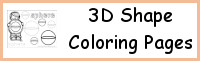 3D Shape Coloring Pages