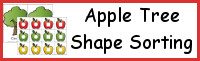 Apple Tree Shape Sorting