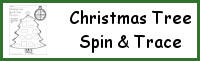 Christmas Tree Spin & Trace Shapes