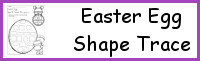 Easter Egg Spin & Trace Shapes