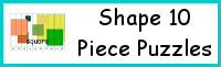 Shape 10 Piece Puzzles